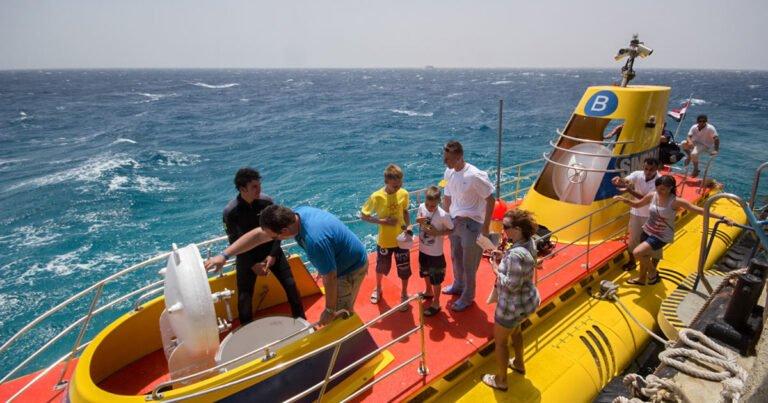 Depuis Hurghada : excursion de 3 h en sous-marin