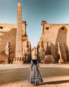 Explore the Temple of Karnak