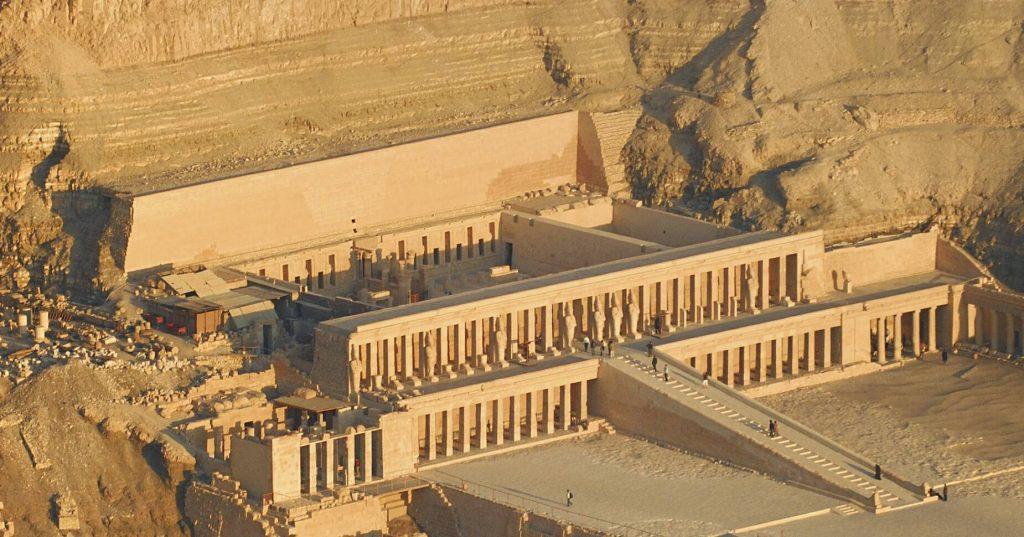 Deir el-Bahari - Temple Luxor