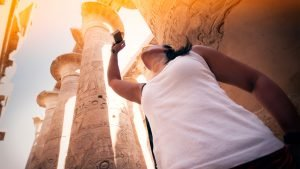 Enter the history of Ancient Egypt and the Pharaohs