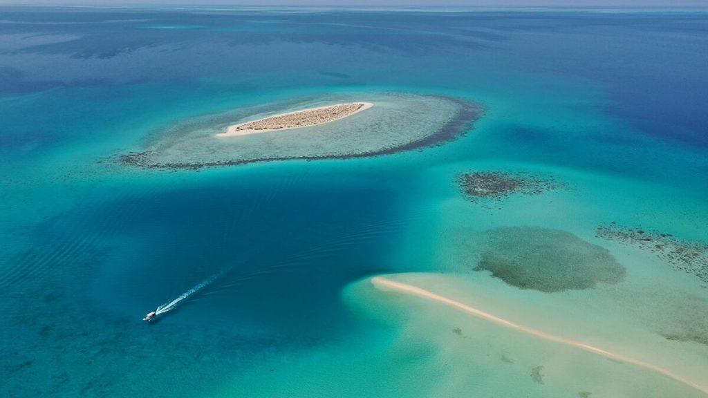 Red sea GIftun Island