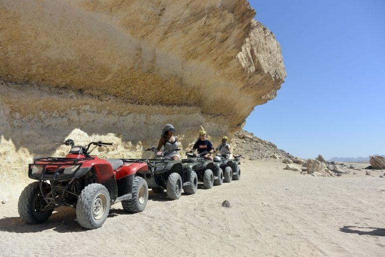 Hurghada : balade en quad au coucher du soleil