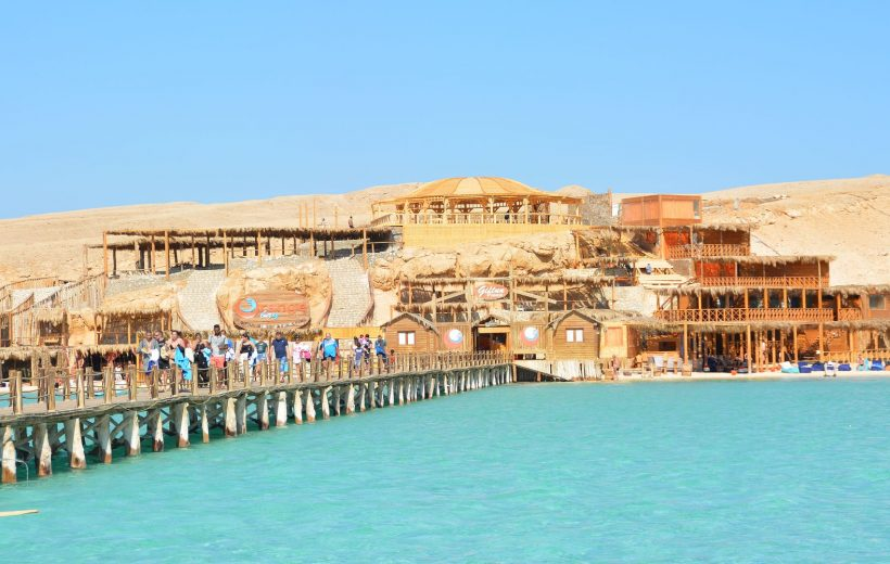 Hurghada: Orange Bay Island and Snorkeling tour with lunch
