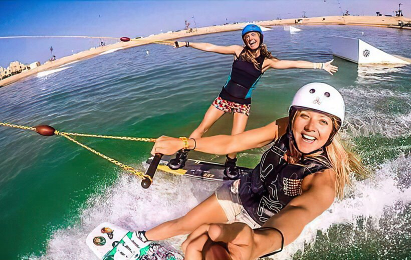 FROM HURGHADA: SLIDERS CABLE PARK & AQUA PARK WITH TRANSFERS