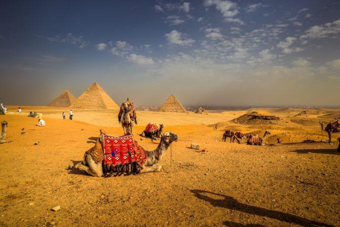 Camel Ride Cairo Pyramids