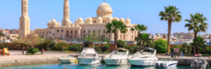 From El Gouna: Private City Tour in Hurghada