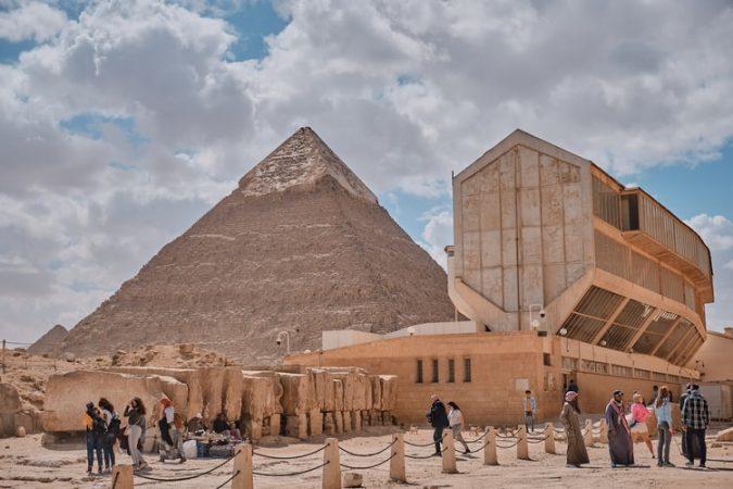 Khufu Ship - The Giza Solar boat museum