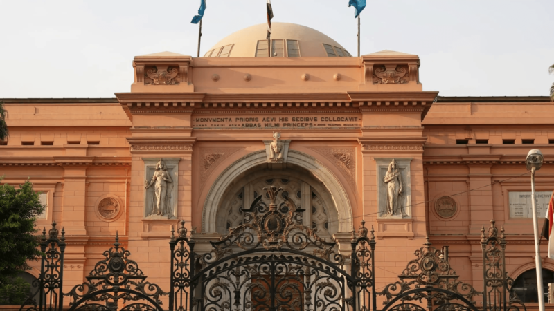 Cairo by flight from Hurghada- Egyptian Museum