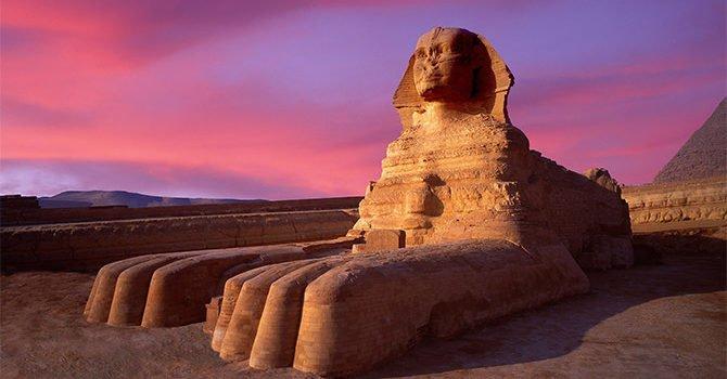 Cairo Trip By Flight Great Sphinx