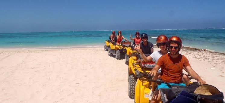 Hurghada: Sunrise Quad Bike Adventure and Giftun Island Snorkeling Trip