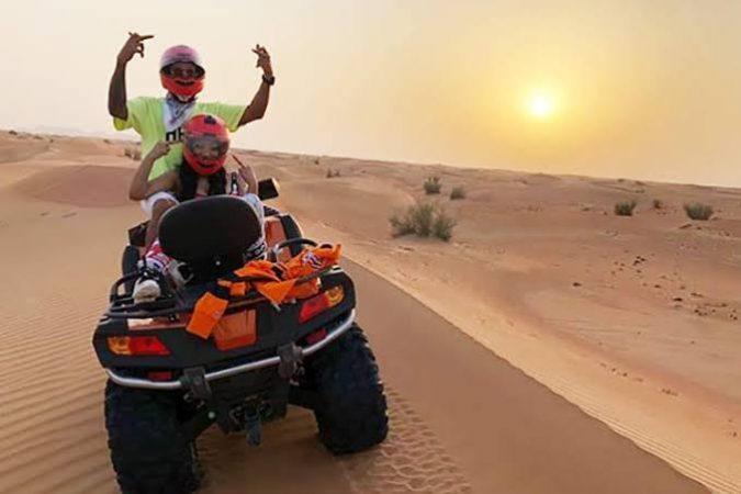 Hurghada: Desert safari quad