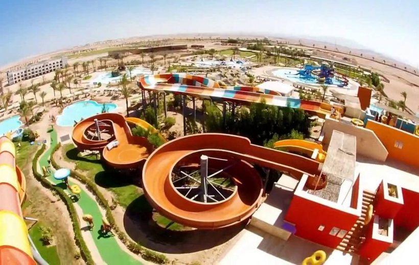 Hurghada: Makadi Water World Ticket, Transfer, and Lunch