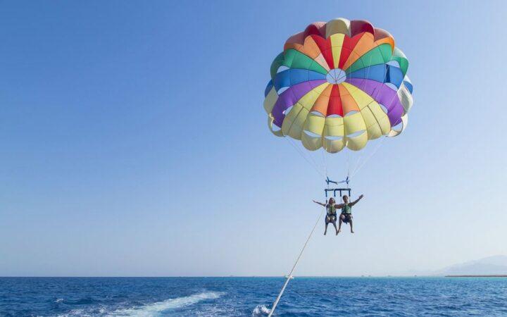 Parachute in Hurghada
