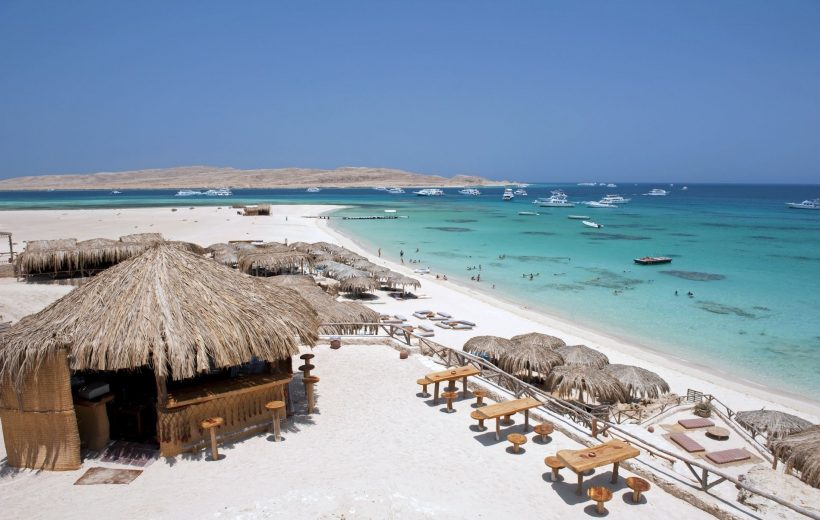 Hurghada: Giftun Island Snorkeling & Lunch on a Luxury Boat