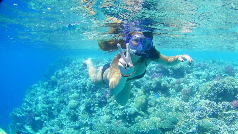 Giftun Island Snorkeling Luxury Boat Tour with Lunch and Drinks