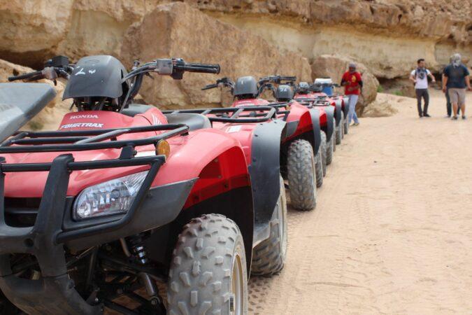 Desert Safari Trip Quad Bike, Camel Ride, and Bedouin Village