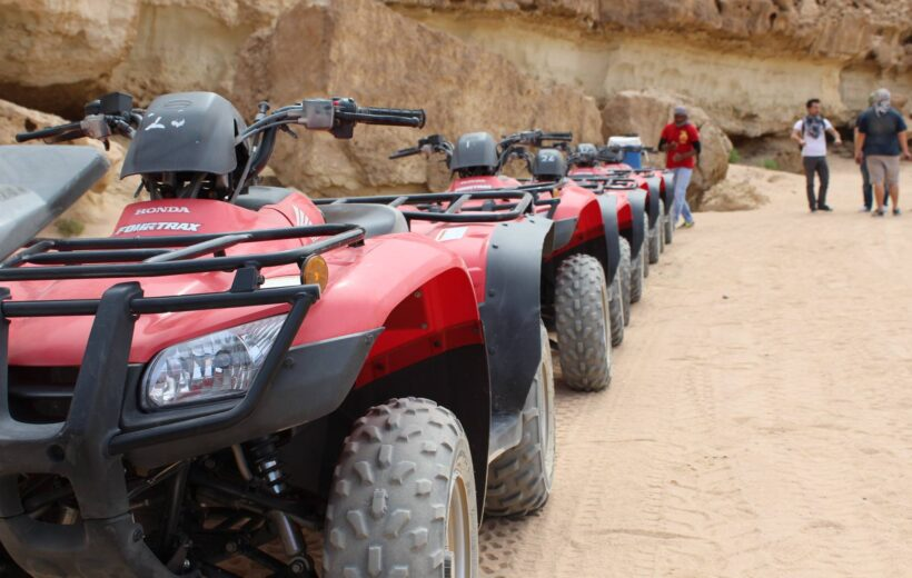 Sharm El Sheikh: Afternoon Quad Bike Ride & Camel Desert Safari