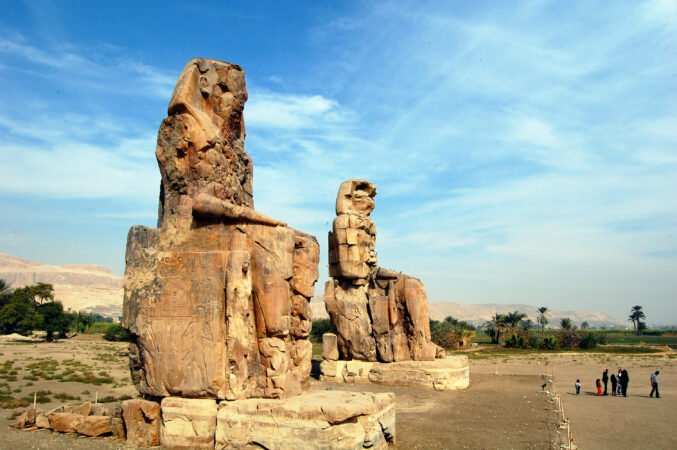 Colossus memnon- Hurghada: Day Trip To Luxor Highlights And Valley Of The Kings Guided Tour