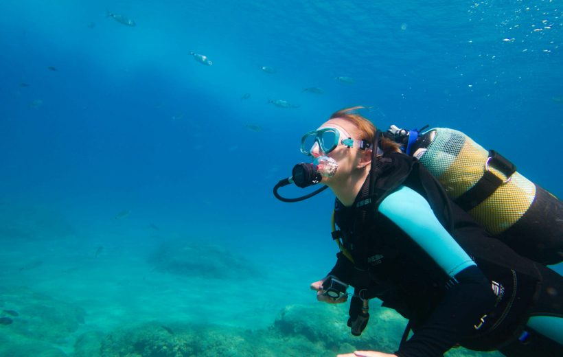 Diving in Sharm El Sheikh-Intro Tour 2 Dives with lunch