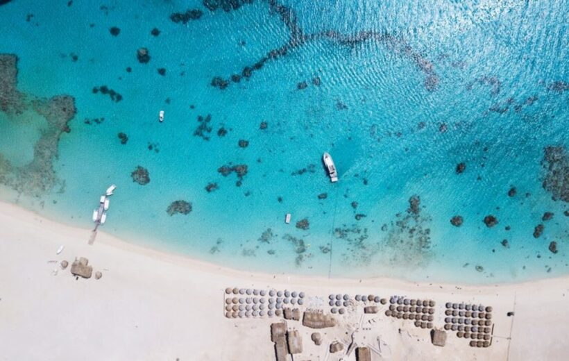 Hurghada: Giftun Island Snorkeling Luxury Boat Tour with Lunch and Drinks
