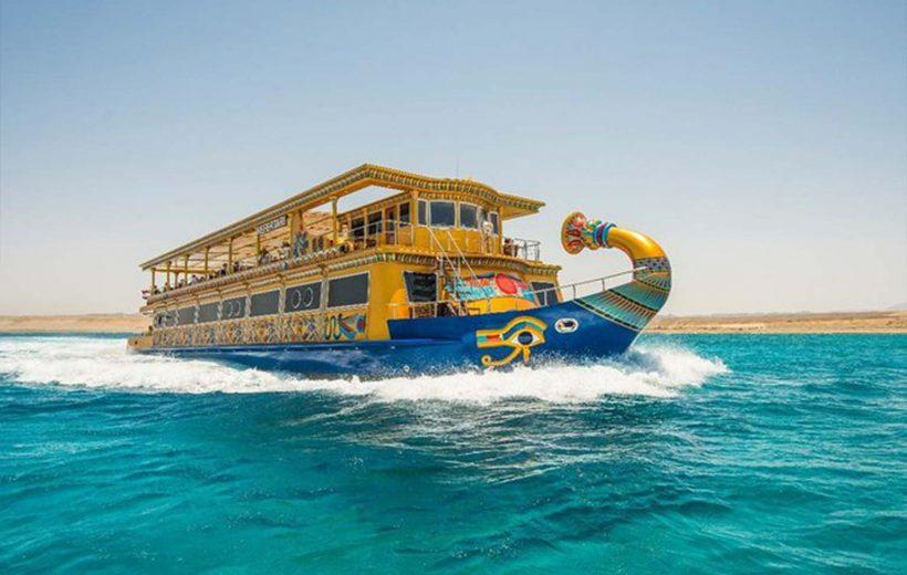 Marsa Alam: Sunset Trip Nefertari Semi Submarine with Hotel Pick Up