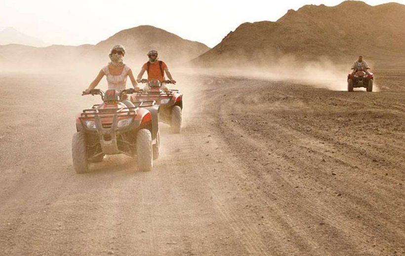 Marsa Alam: Sunset Desert Safari Excursion By Quad Bike