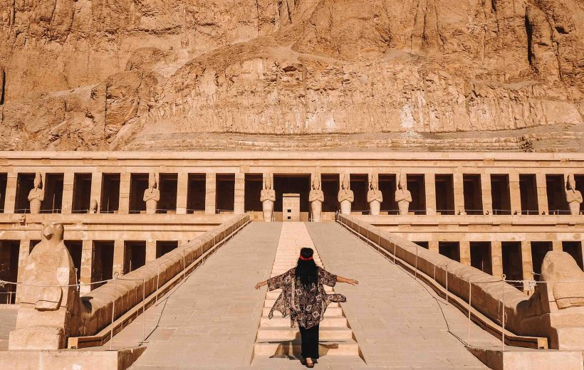 From Cairo: Private Luxor Tour by Airplane