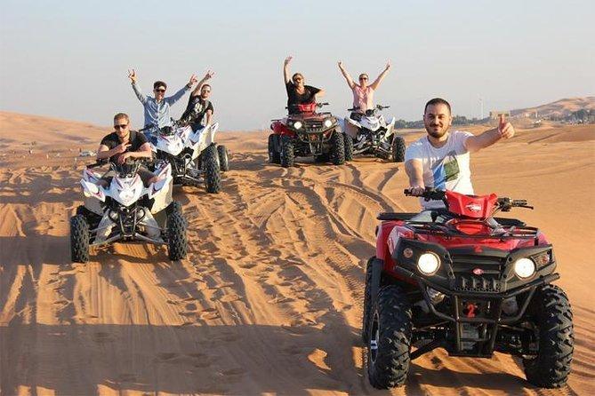 Three-Hour Desert Safari Trip Quad Bike, Camel Ride, and Bedouin Village