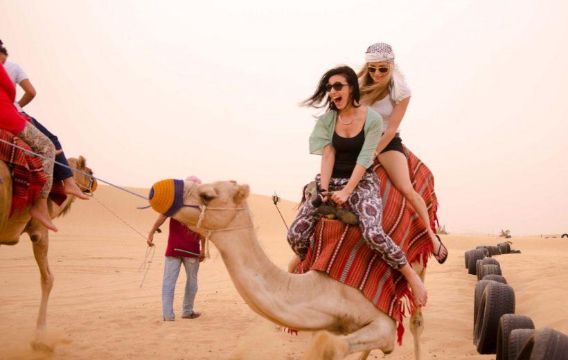 El Gouna: 3-Hour Desert Safari Quad Bike and Camel Ride
