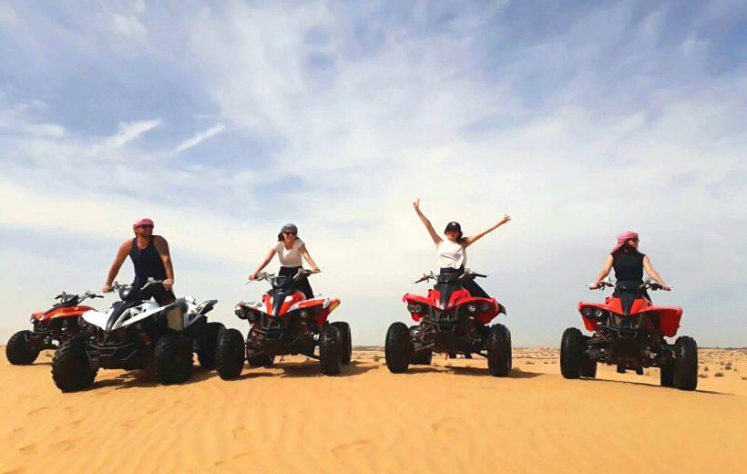 Hurghada: 3-Hour Desert Safari Trip Quad Bike, Camel Ride, and Bedouin Village
