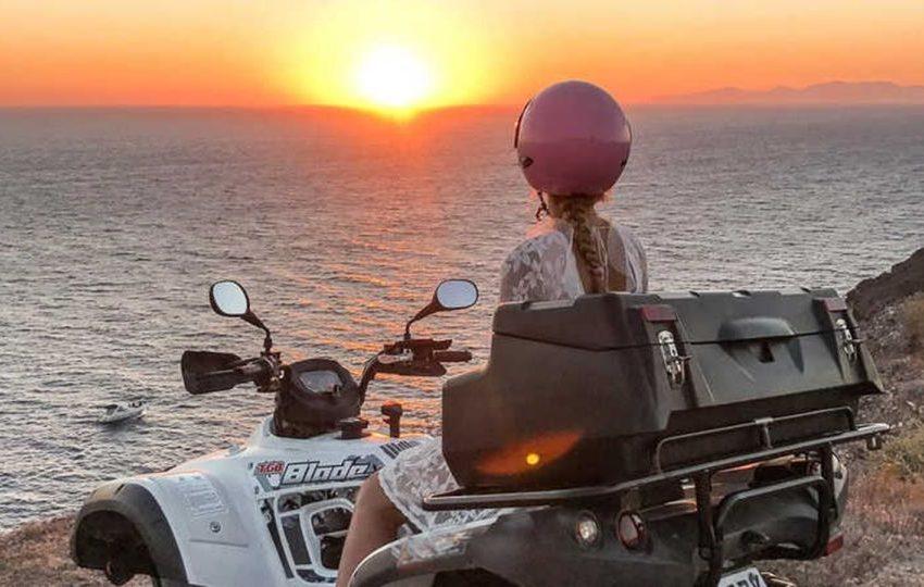 Sunset Quad Along Sea Hurghada