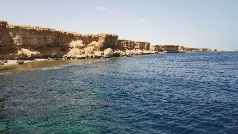 Mountains beside sea Hurghada