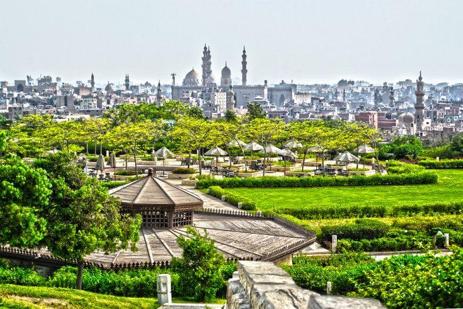 Cairo-Al-Azhar Park