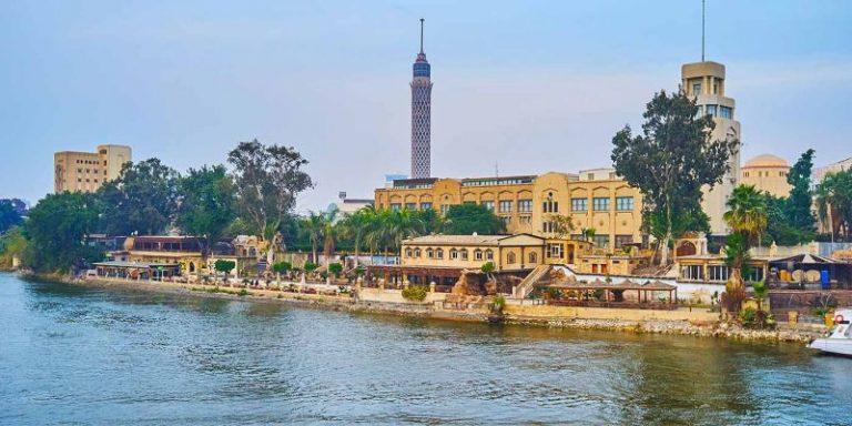 Zamalek Cairo Tower Nile