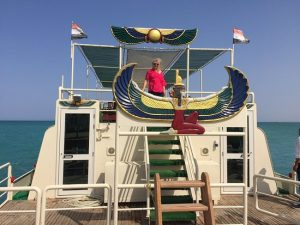 Queen Isis largest Glass boat in the world