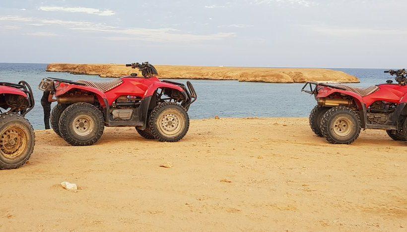 Soma Bay: Sunset Quad Bike Tour Along The Sea and Mountains