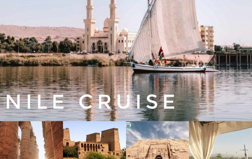 Hurghada: Nile Cruise 7 nights Luxor, Aswan, Edfu, Com Ombo