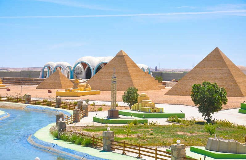 Hurghada: Mini Egypt Park with Transfer
