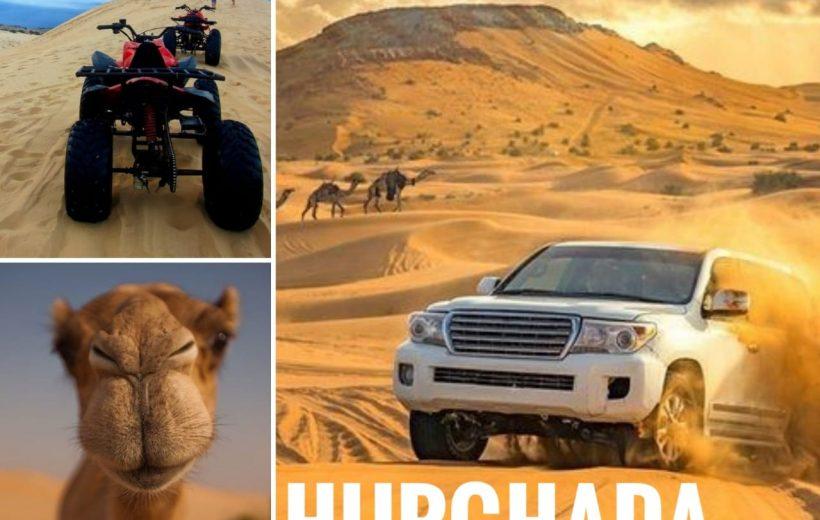 Hurghada: Safari Package 3 Tours - ATV Safari, Super Safari, Safari ATV along the Sea