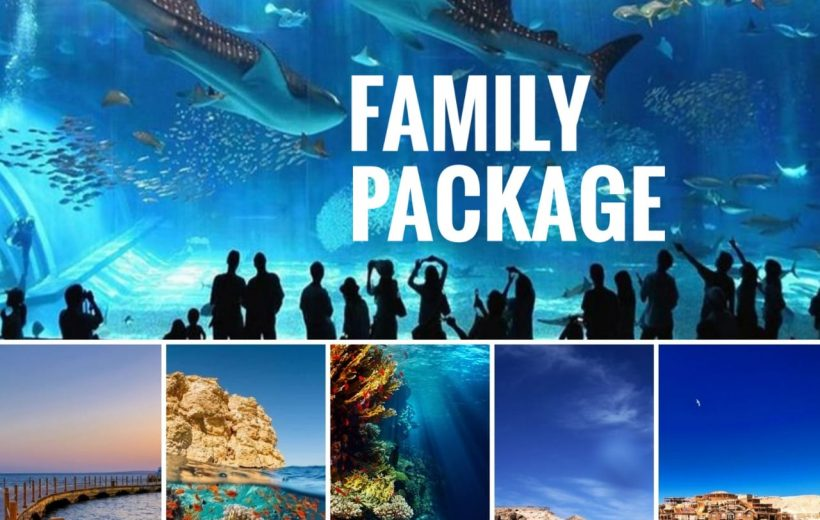 Hurghada: For Family's with Children 3 Tours Package - Royal Sea Scope, Grand Aquarium and Orange Bay Island