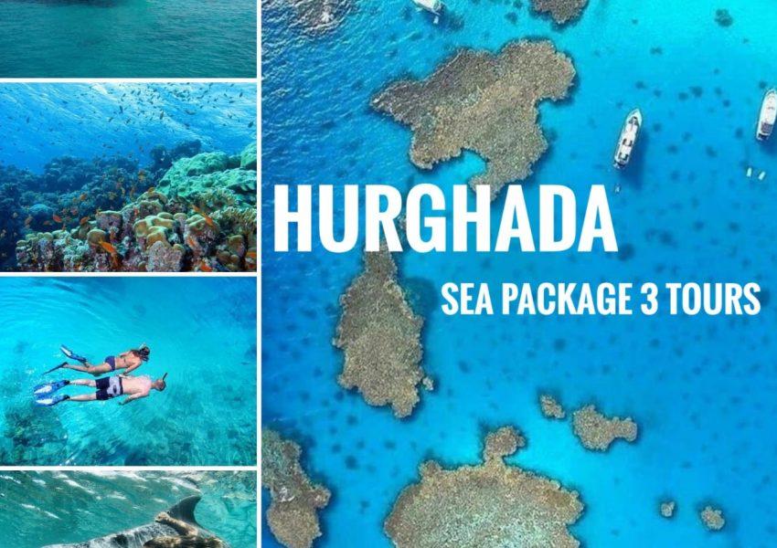 Hurghada Sea Package 3 Tours