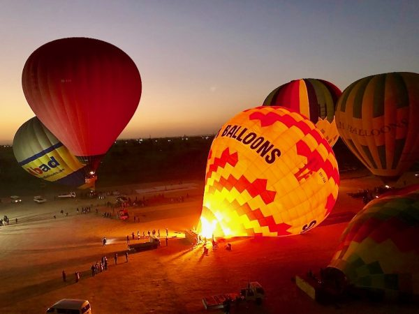 Trip to Luxor with Air Balloon Ride