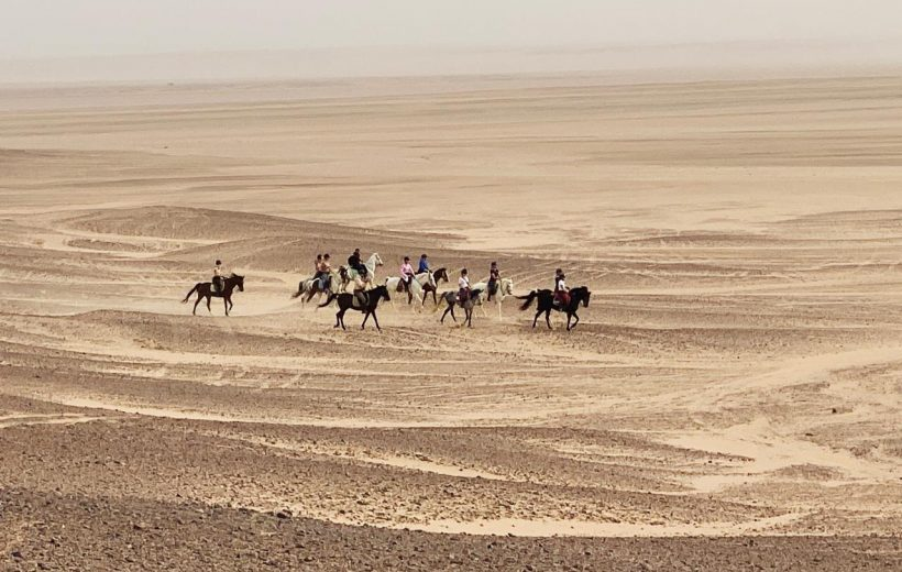 Hurghada: Photography Tour in Desert with Horses