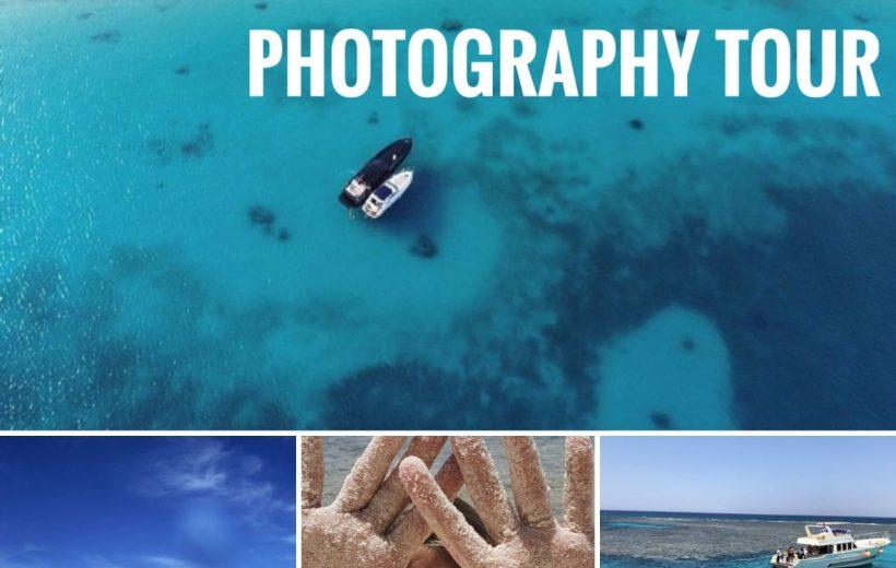 Hurghada: Photography Tour on Orange or Paradise Island
