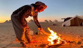 Safari with Bedouin Village