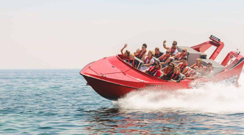 Jet Boat from soma bay