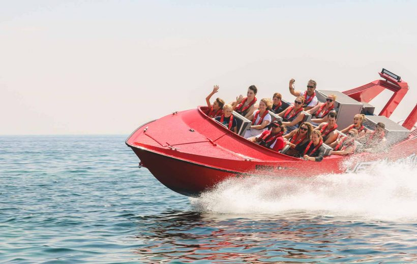Soma Bay: Extreme Jet Boat Experience with Hotel Pick up