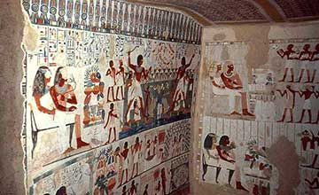 TOMBS OF THE NOBLES  Luxor