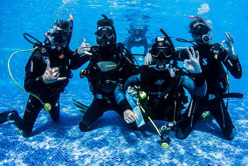diving PADI Course Hurghada
