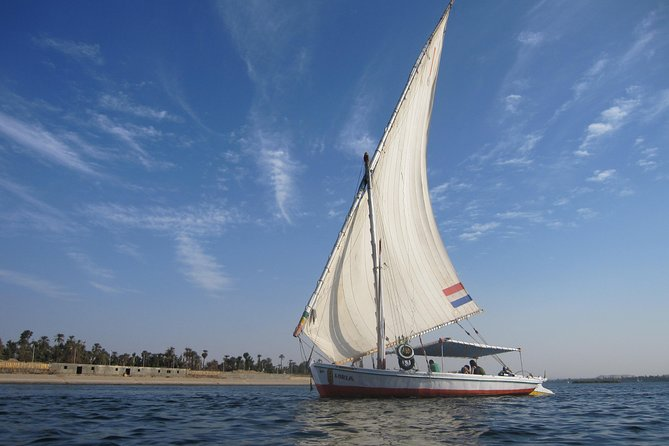 Cairo: 1 or 2-Hour Nile Felucca Ride with Transfers